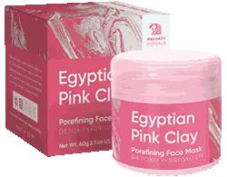 Маска Egyptian Pink Clay мини версия.